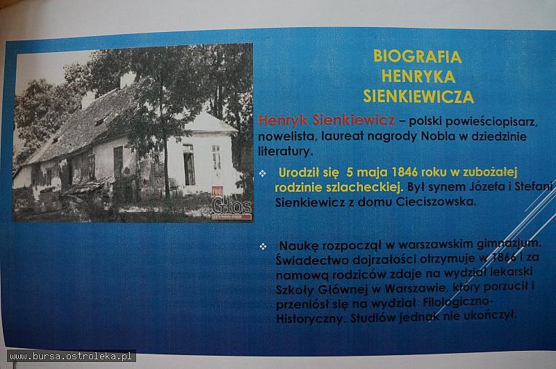 Rok 2016 Rokiem Henryka Sienkiewicza